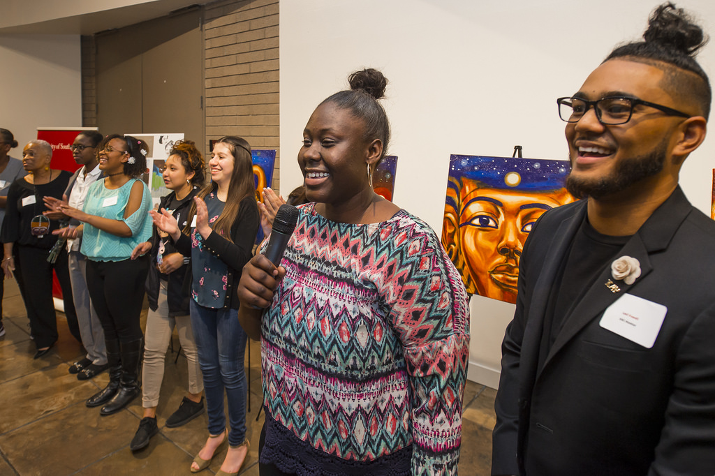 Student Art Honors Black History Month