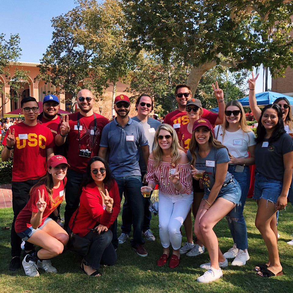 Young Alumni Tailgate
