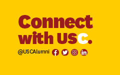 FIller Button Connect with USC social