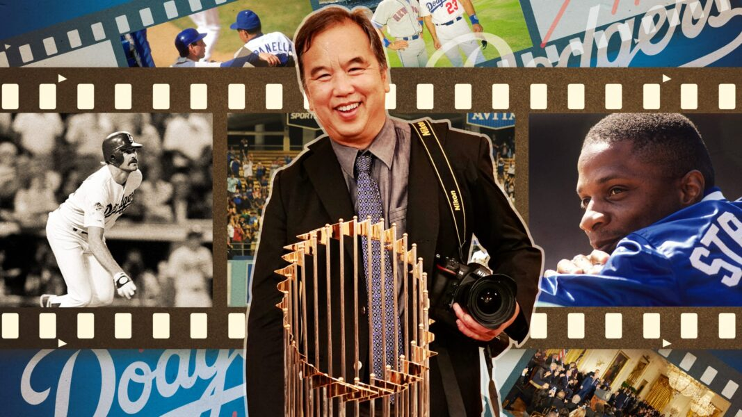 Capturing Dodgers History in Pictures